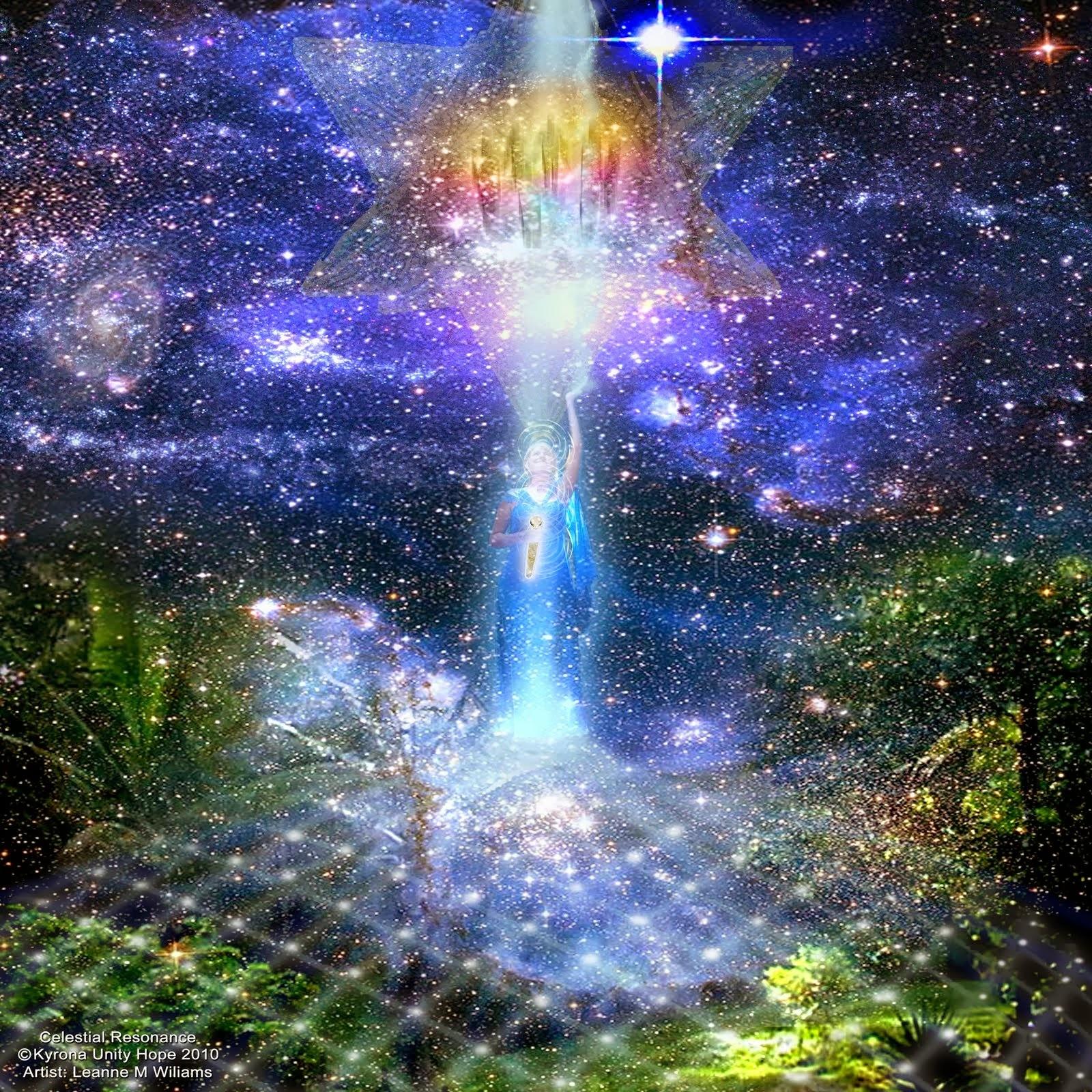 神聖なエネルギーと繋がる