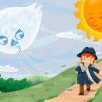 「悪いものを取る?」…   北風と太陽